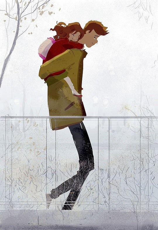 Original Illustrations by Pascal Campion http://www.cruzine.com/2013/10/28/original-illustrations-pascal-campion/