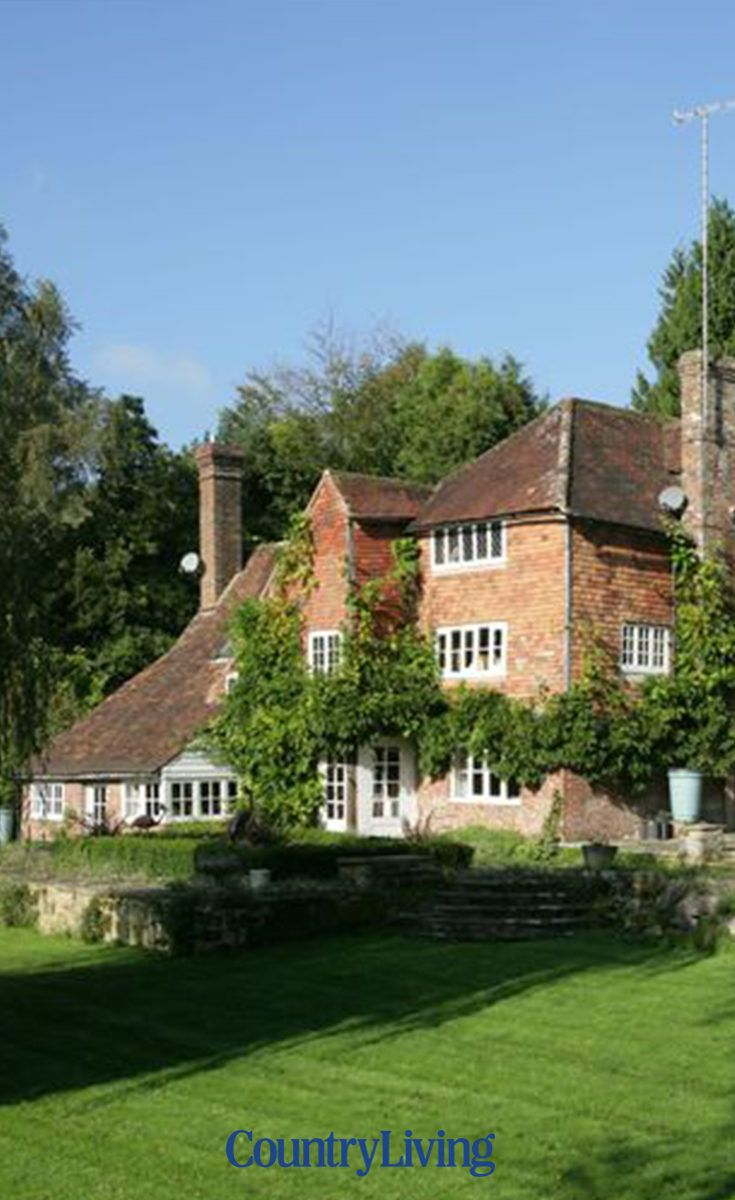 Take A Tour Of The Childhood Home Of Christopher Robin And Pooh Bear English House French Farmhouse Style Country Retreat Country living magazine wiki