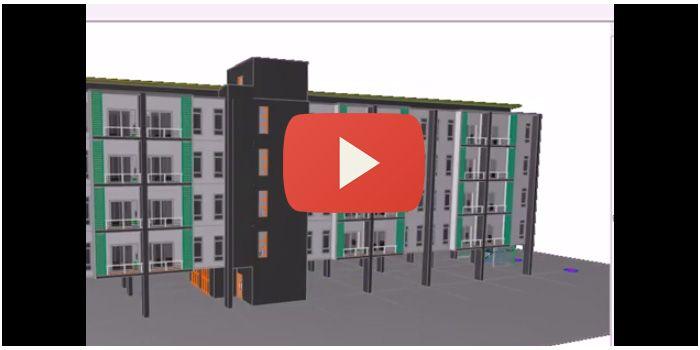 ออกแบบอาคารเป็นงานหมูๆ ด้วย ArchiCAD Hotlink