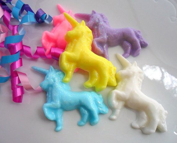 how to make unicorn soap