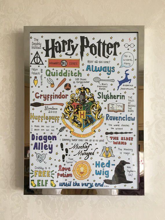 harry potter poster   die welt der zauberer  harry
