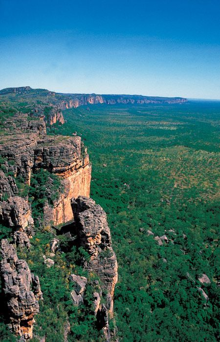 #AustraliaItsBig - Kakadu Arnhem Land Escarpment. Kakadu National Park, Northern Territory – Australia.