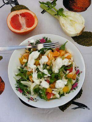 Makacska konyhája: Déligyümölcs saláta