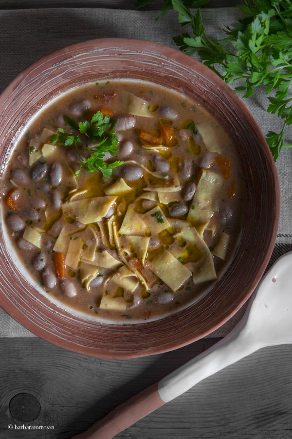 Pasta e fagioli – beans soup