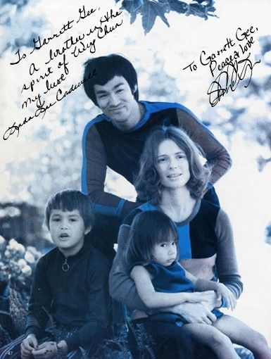The Lee family. Awesome.
