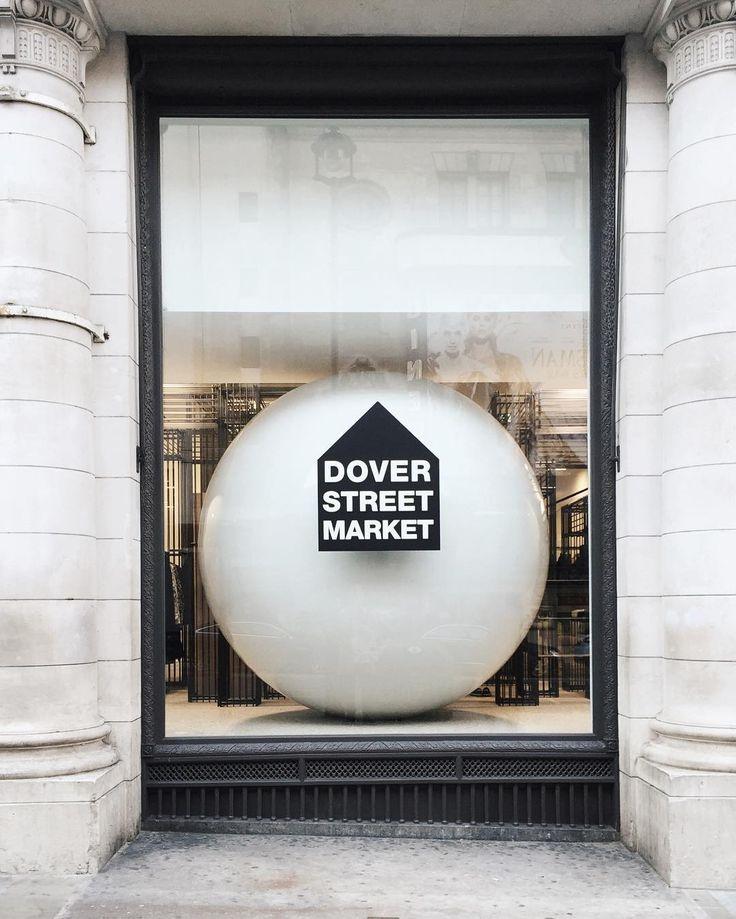 Dover street market. ⚪️ Not on Dover street anymore.