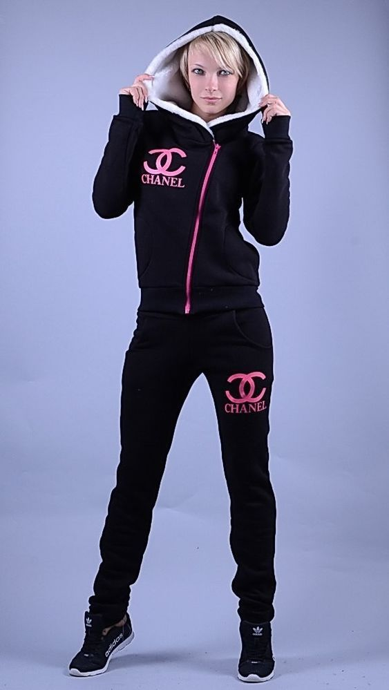 pretty neon shirts for women | Women's Sports Awesome Fleece Hoodies Tracksuit 2 Pcs sweat Suit ...