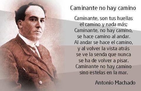 Recursos didácticos en Internet sobre Antonio Machado.