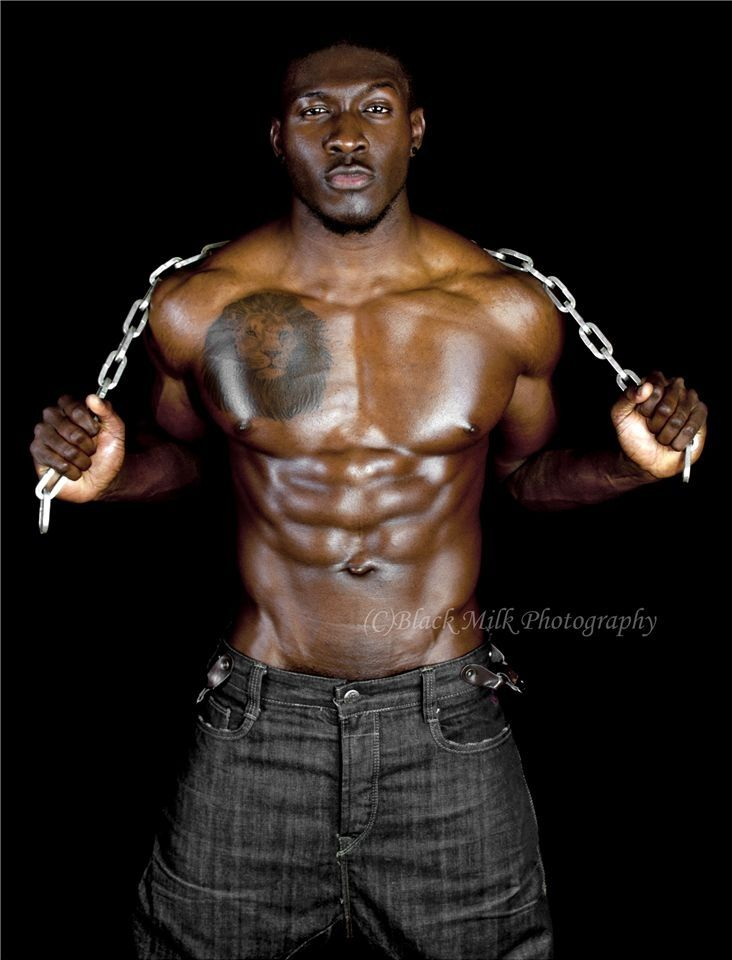 Hot dark skin men thank