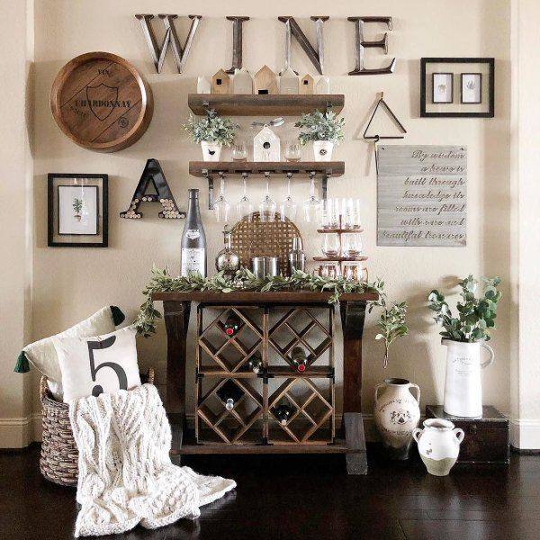 Pin On Casa Wine decor for dining room