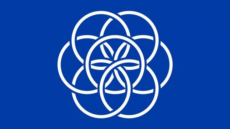 Come and see the flag that has been designed for Planet Earth