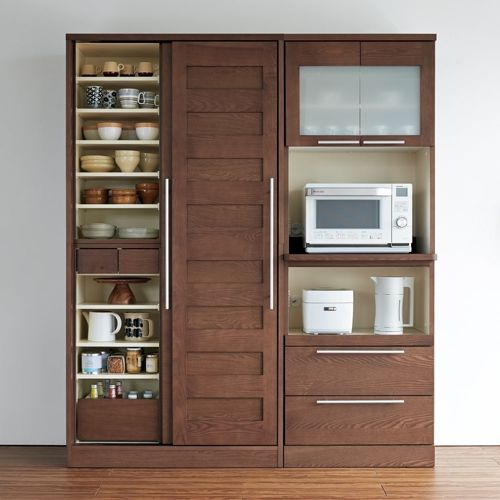 NexII ネックス2 天然木キッチン収納 キャビネット 幅100cm 家具収納・インテリア雑貨専門 通販のハウススタイリング(house styling)