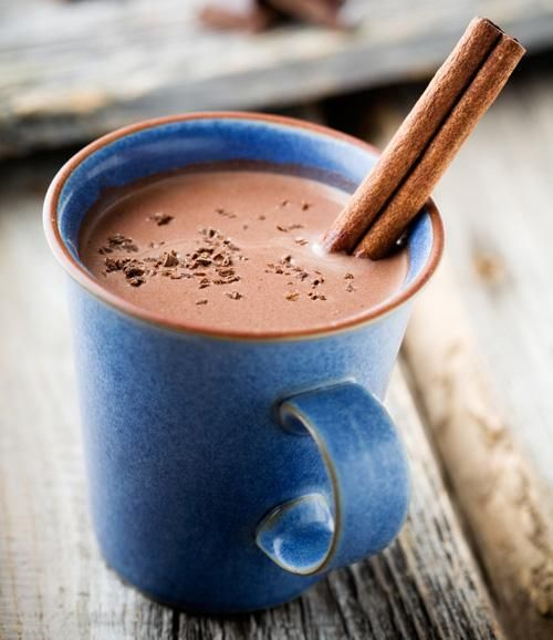"""SPICY, MEXICAN HOT CHOCOLATE. Different versions...but for a """"quick fix,"""" add cinnamon and white pepper to  a Hot Cocoa mix like Ghirardelli's."""