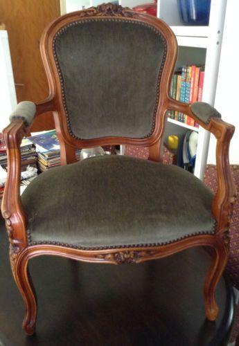 Zetel stijl Louis XVI in Kunst & Antiek, Antieke meubels, Stoelen & Zetels | eBay
