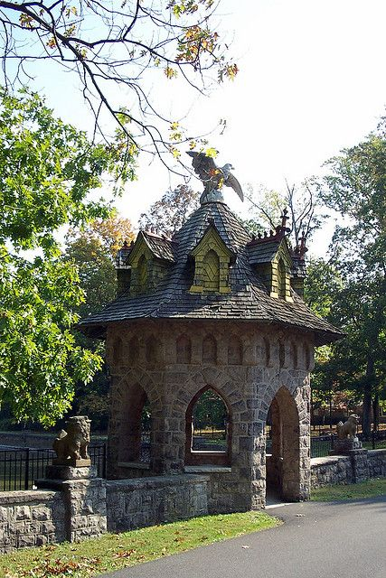 Gatehouse at Lindenwold Castle, Ambler, PA | Philly ...