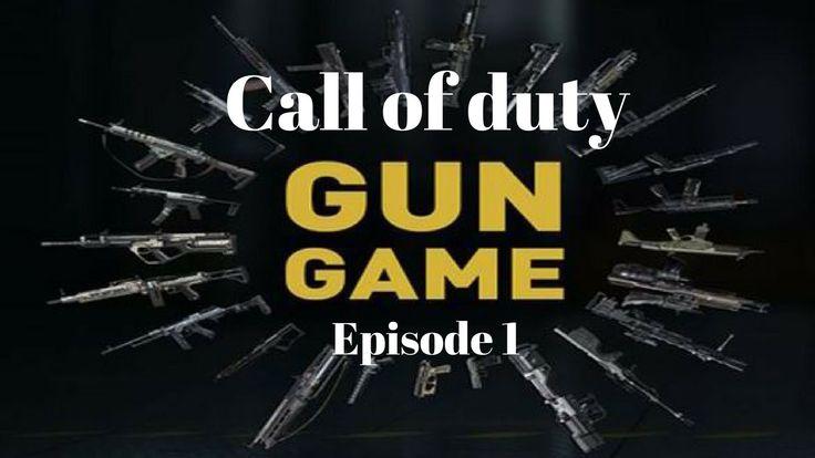 Call of duty GUN Game!! Live stream (episode 3)