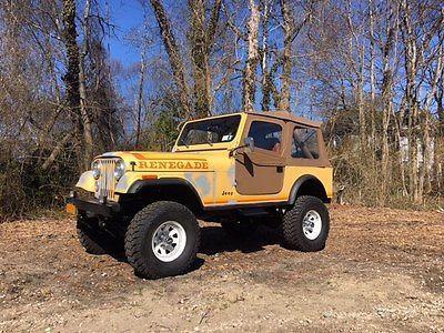eBay: 1982 Jeep Wrangler RENEGADE Jeep Wrangler cj7 #jeep #jeeplife usdeals.rssdata.net