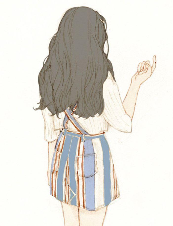 25+ Best Ideas About Cute Girl Illustration On Pinterest