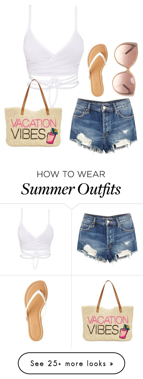 """summer outfit #4"" by olive5000 on Polyvore featuring Free People, Charlotte Russe, INC International Concepts and Chloé"