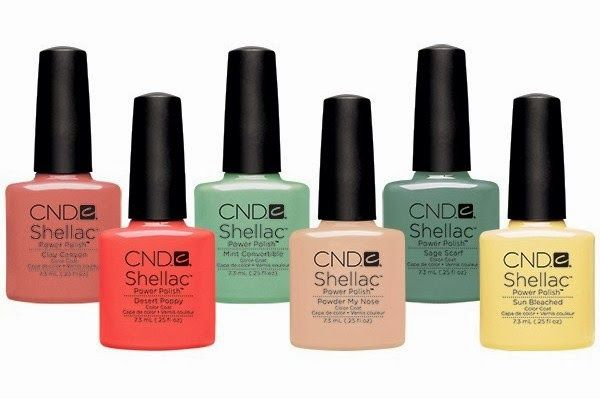 Brush up and Polish up!: CND Shellac Open Road Collection Spring 2014