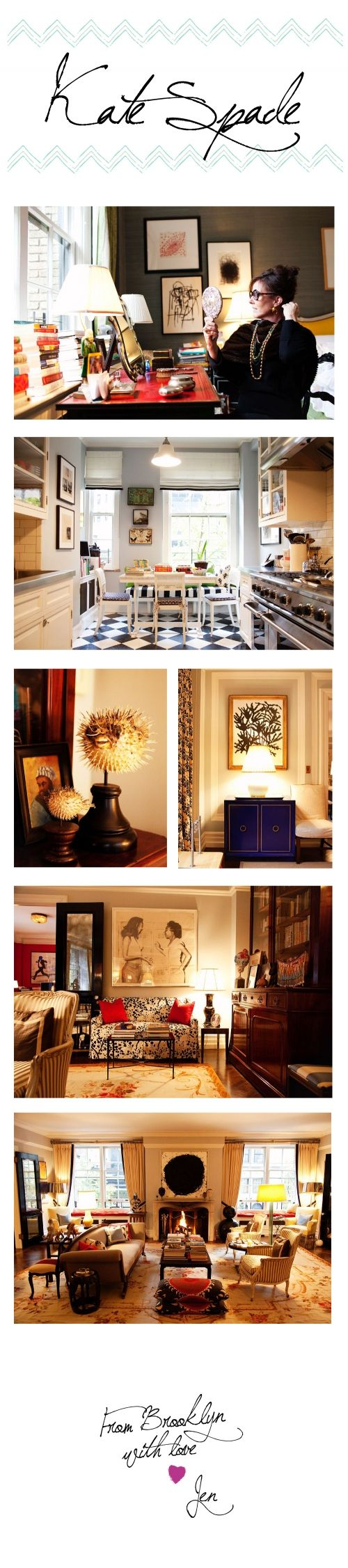 My Style… Kate Spade's Home # @Lacey Sutherland look lace!! a blowfish!! it can be a style!