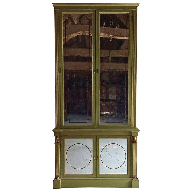 Magnificent Tall Mirror Fronted Cabinet Julian Chichester Bespoke One of a Kind 1