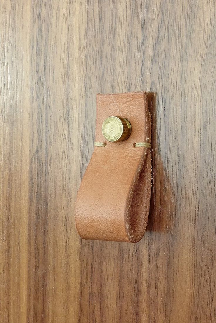Swap Out The Given Drawer Pulls For These Cool Leather Pull On Your Sink Vanity You Could Or I Also Have A Tutorial Of Making Own