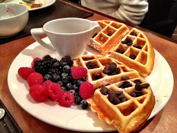 Thomson's restaurant at the Hyatt in downtown Calgary has the best brunch and breakfast in the whole city!