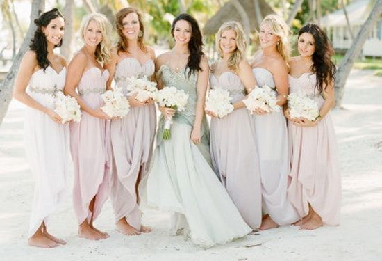 beach wedding bridesmaid dresses #BeachBridesmaidDresses  #BeachWeddings