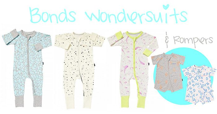 bonds, wondersuits, baby clothes