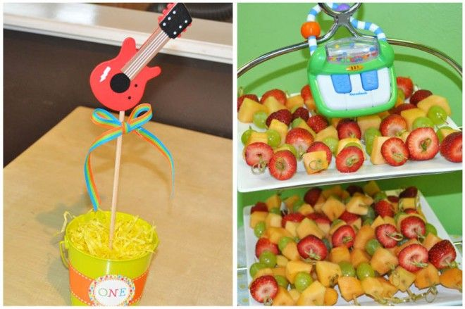 Music Themed 1st Birthday Party! on http://pizzazzerie.com