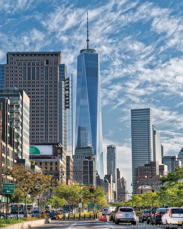 One World Trade Center by jazthenycphotographer #newyorkcityfeelings #nyc #newyork