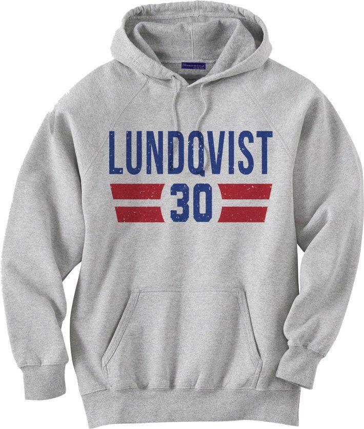 Henrik Lundqvist NHLPA Officially licensed New York Hoodie S-3XL Henrik Lundqvist Font B