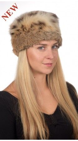 How is this trendy Authentic Lynx fur hat!