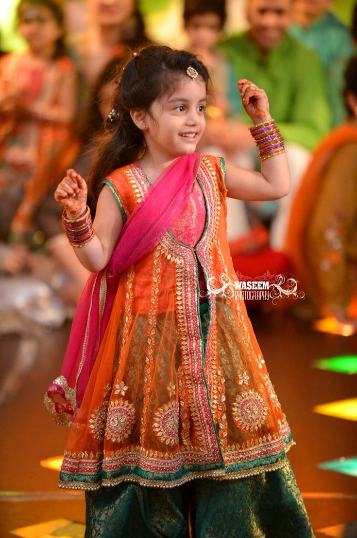 PakistanI Weddings kids fashion