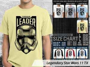 Kaos Film Star Wars Rey, Kaos Film Star Wars Kylo Ren, Kaos Star Wars Poe Dameron