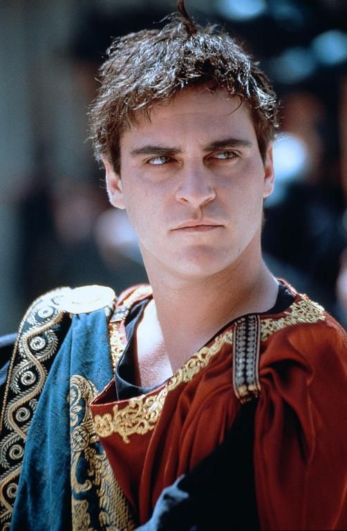 Commodus - Joaquin Phoenix in Gladiator, set in AD 180 (2000).