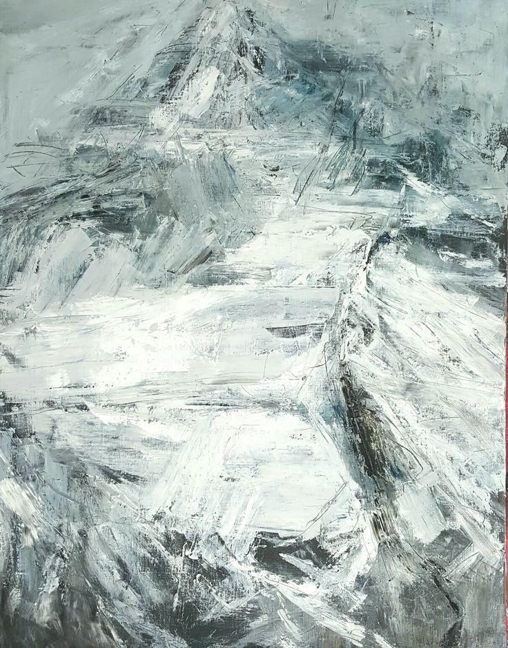 Winter Mountain 90.9 x 72.7 (cm) oil on canvas 2017