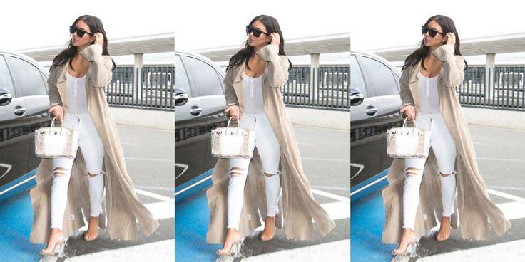 """Desde que seu bebê nasceu, em dezembro, Kim Kardashian está na luta para voltar ao seu peso normal. Para perder mais de 25 quilos, ela se exercita constantemente, evita certos alimentos e documenta sua rotina no Snapchat. Parece que está funcionando (""""meu bumbum e quadris parecem ser os últimos desafios"""
