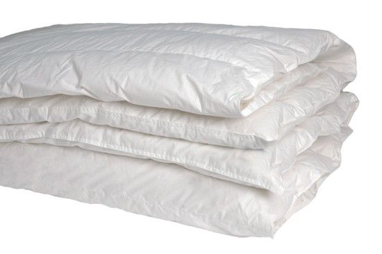 Luxury European Goose Down Quilt. Available from Luxe Quilts. Premium Quality. Single - Super King sized.