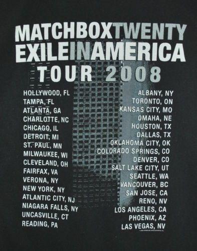 Matchbox 20 - 2/7/2008 - Quicken Loans Arena, Cleveland, Oh.