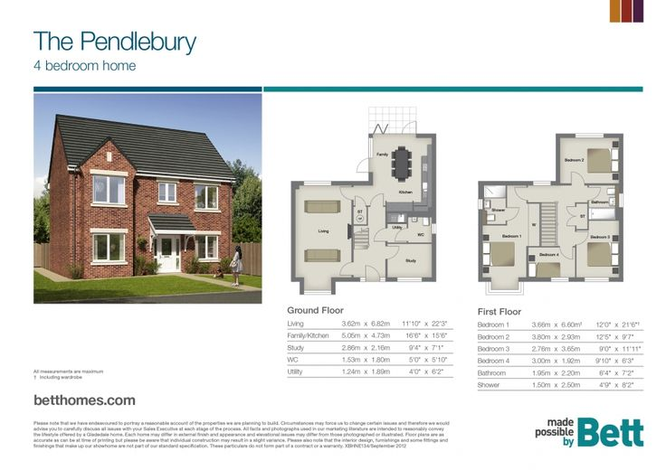 The Pendlebury | Discover | New Build Homes | Bett Homes