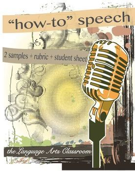 "Creating an engaging and fun speech assignment while balancing the need to teach speaking skills is tricky. This item provides materials for teaching two ""how to"" speeches."