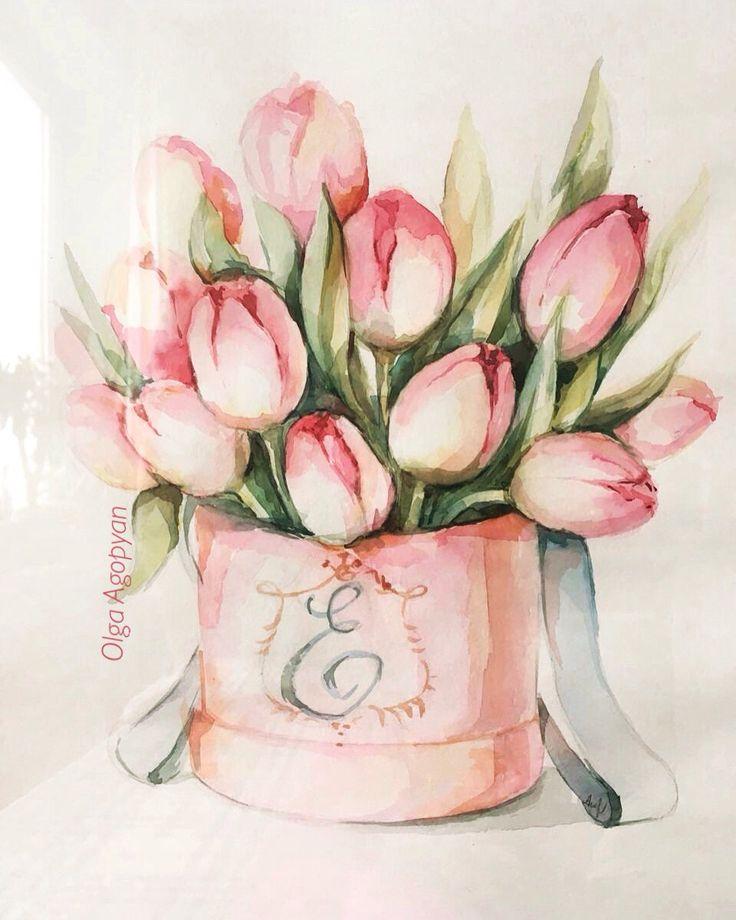 влиянием тюльпаны открытка рисунок этого замечательного салона