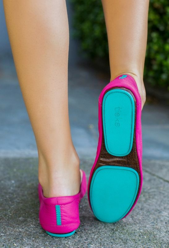 these comfy fuchsia @Tieks by Gavrieli by Gavrieli though... #casualfriday