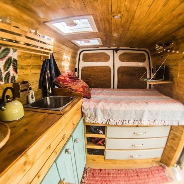 The Storage Repost From Veggievanlife VanCrush Vanlife Van Conversions IdeasVan Conversion PlansVan KitchenVan
