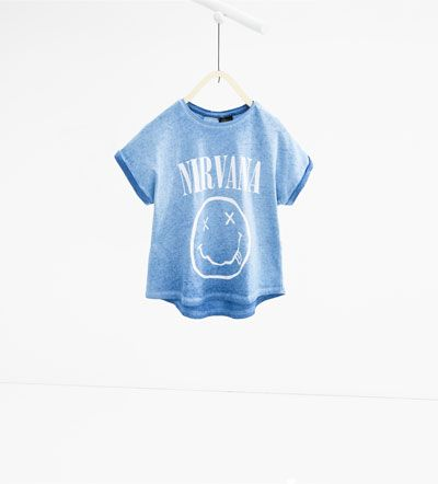 Image 1 de T-shirt «Nirvana» de Zara