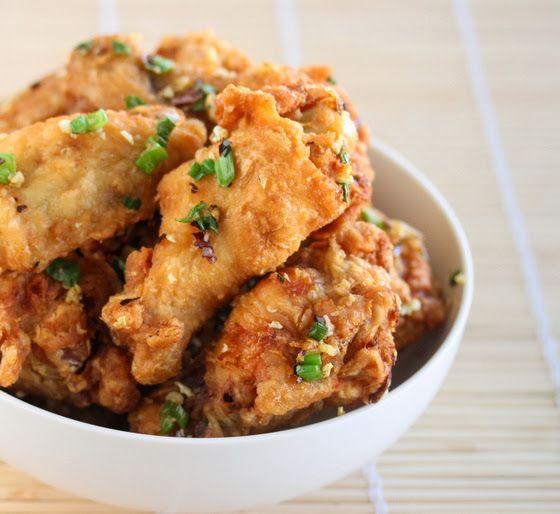 Salt and Pepper Chicken Wings | Kirbie's Cravings | A San Diego food blog