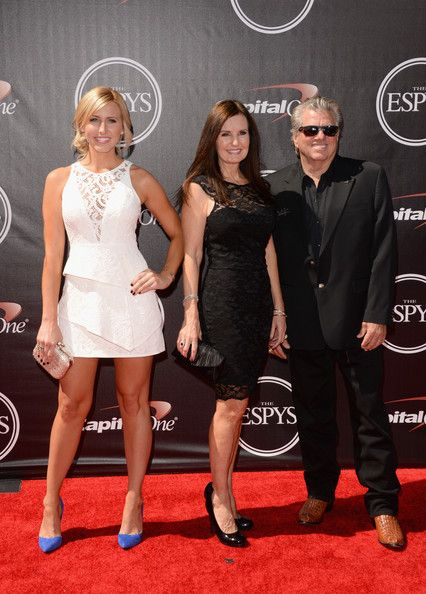 John Force Photos Photos - (L-R) Courtney Force, Laurie Force and John Force attend The 2014 ESPYS at Nokia Theatre L.A. Live on July 16, 2014 in Los Angeles, California. - Arrivals at the ESPYS — Part 4