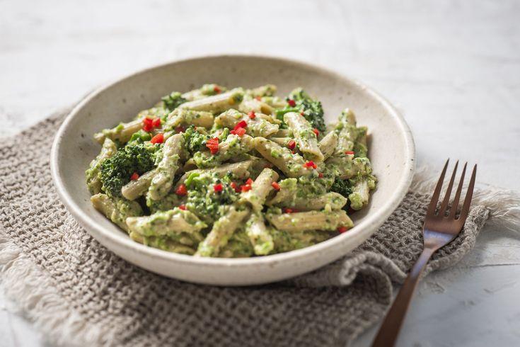 Vegan Pesto Pasta with Broccolini - San Remo